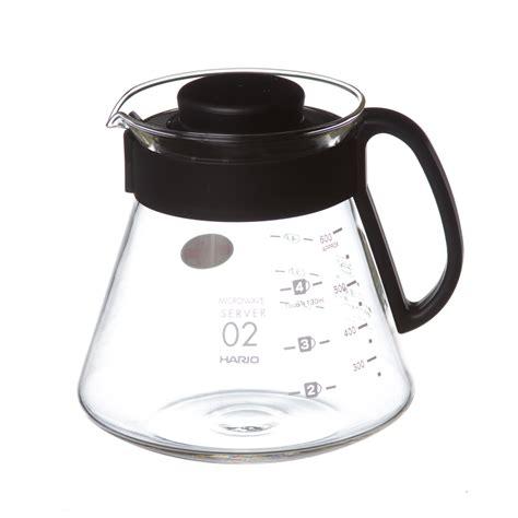 Hario Coffee Server V60 Manual Brew Espresso Teko Kopi 450 Ml hario v60 600 ml range server prima coffee