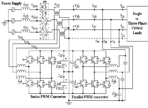 3 phase ups circuit diagram circuit and schematics diagram