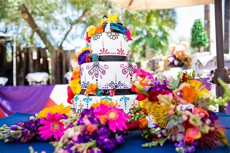 Theme Wedding Cakes by 83 Mexican Themed Wedding Cake For Your Inspirations Vis Wed