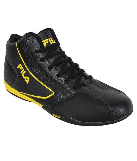 fila black outdoor shoes price in india buy fila black