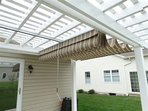 Pergola Canopies Shadefx And Ez Shade Canopy Pergola With Retractable Canopy
