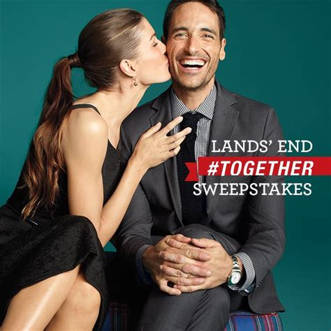 Lands End Sweepstakes - come together for the lands end cyber monday holiday celebration eighty mph mom