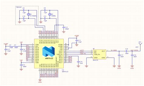layout and schematic check rf layout sanity check please nordic developer zone