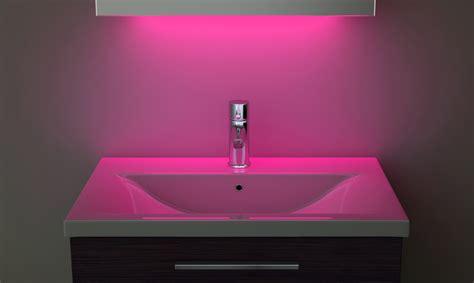 pink bathroom mirror ambient shaver led bathroom illuminated mirror with
