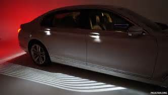 Lighting A Carpet Bmw Welcome Light Carpet How Does It Work