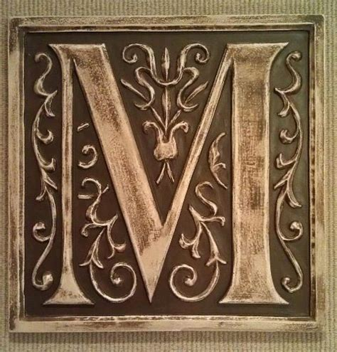 Decorative Wall Plaques by Monogram Letter Plaques Outdoor Decor Boston