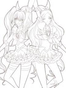 beautiful anime printable coloring pages 38 with