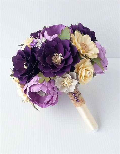 Bouquet With Paper - 25 best ideas about paper flower bouquets on
