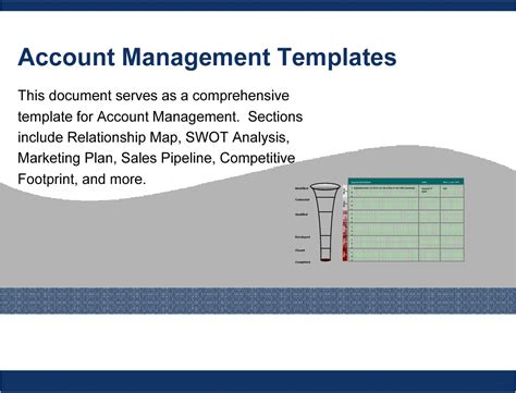 Account Management Templates Powerpoint Account Manager Business Plan Template