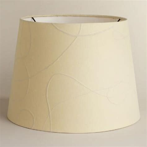paper table l shades white mulberry paper table l shade world market
