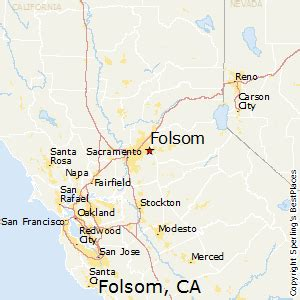 folsom california map best places to live in folsom california