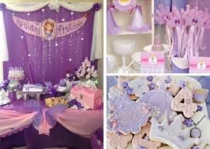 princess sofia birthday decoration ideas