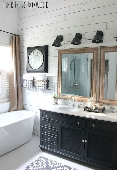 farmhouse style bathrooms best 25 modern farmhouse bathroom ideas on pinterest