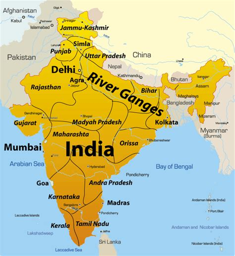 ganges river map 9 reasons why one should visit india theguytravel