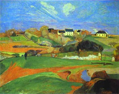 Landscape Paintings Usa Landscape Paul Gauguin Painting Gallery