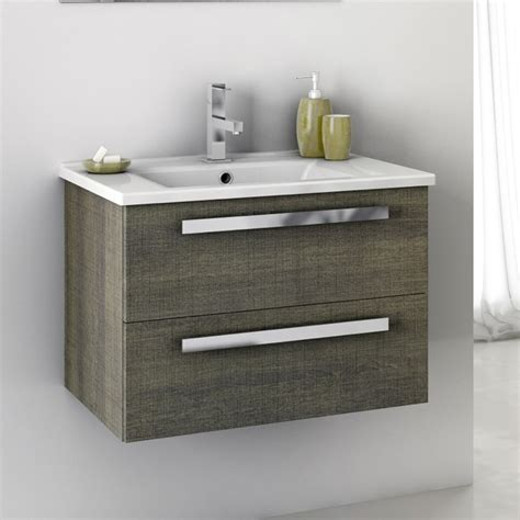 24 inch bathroom vanity sets modern 24 inch dadila vanity set with ceramic sink