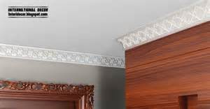 A Cornice Plaster Cornice Top Ceiling Cornice And Coving Of