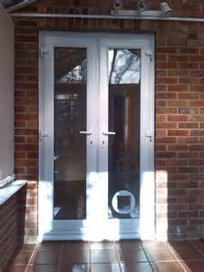 Cat Doors For Windows Decor New Upvc Doors And A Cat Flap Installed Window Wizards
