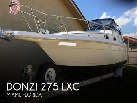 donzi boats for sale in florida donzi 275 lxc boats for sale in florida