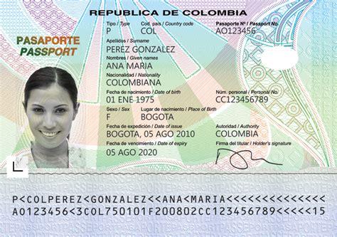 montos nuevos de las asignaciones ya est 225 a la venta pasaportes pasaporte colombiano el nuevo pasaporte