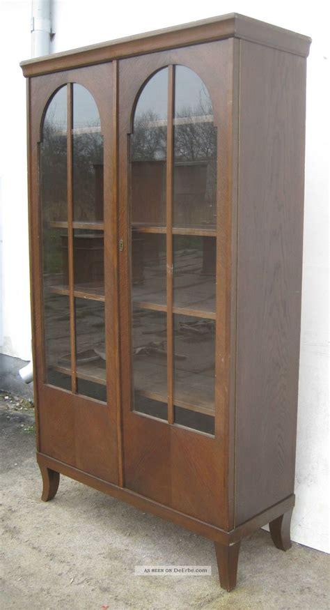 jugendstil vitrine jugendstil vitrine eiche ca 1910