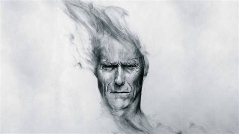 Sketches 1080p by Clint Eastwood Drawing Wallpaper 4338