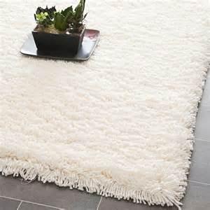 plush dense woven honey white premium shag rug