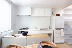 Modern White Kitchens - japanese inspired kitchens focused on minimalism