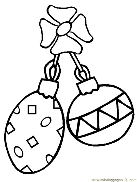 coloring pages christmas ornaments 3 cartoons
