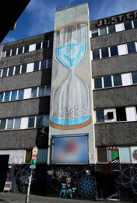 blu  urban artist   gigantic paintings