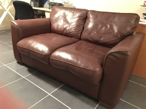 2 seater leather sofas for sale 2 seater brown leather sofa for sale in ballincollig cork