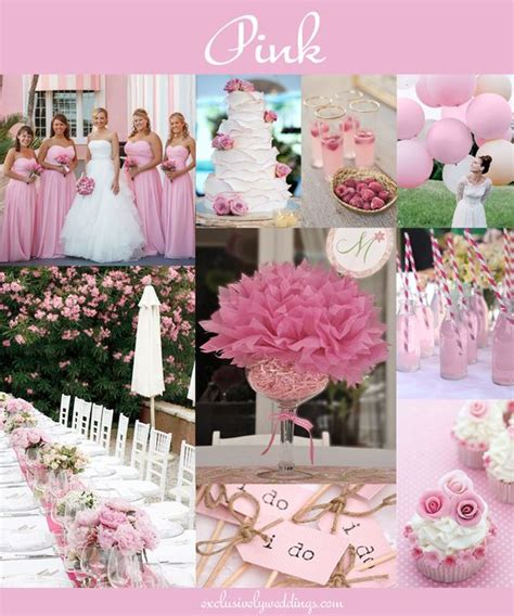 pink wedding theme decorations the 10 all time most popular wedding colors turquoise