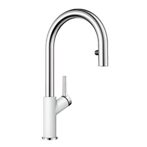 white kitchen sink taps blanco carena s vario bm3118wh white tap kitchen sinks