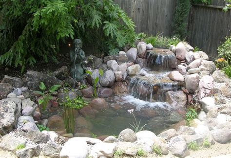 backyard ponds diy diy backyard pond with boulders green thumb pinterest
