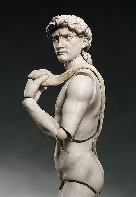 michelangelo david sculpture michelangelo s david figma action figure watch out