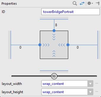 xml layout properties designing an xml layout for portrait view
