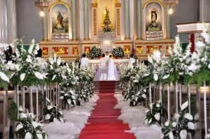 dekoration hochzeit kirche church wedding aisle decoration ideas digitalrabie