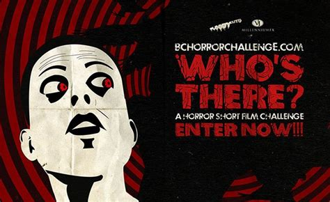 who s there challenge quot who s there quot worldwide horror challenge contest