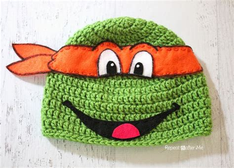 free pattern ninja turtle ninja turtle crochet the whoot