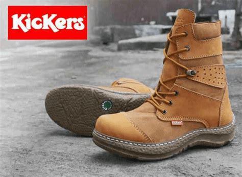 Sepatu Boots Kickers Branded 4 Warna 5 tips jitu cara merawat sepatu pria branded terbaru