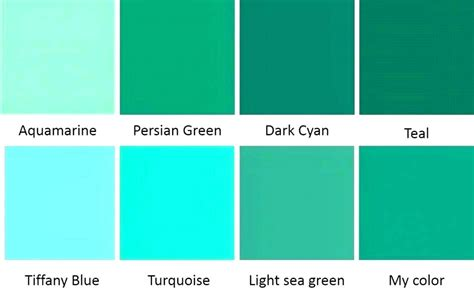 what color is teal green teal color chart aqua blue color teal green colour chart