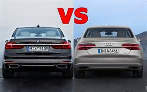 Audi A8 Vs Bmw 750 2016 Bmw 7 Series Vs 2016 Audi A8 Exterior Interior And