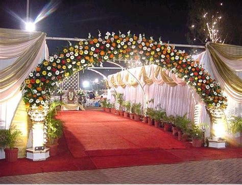 Garden Accessories In Hyderabad by Beautiful Wedding Ceremony Decorations Wedding Entrance