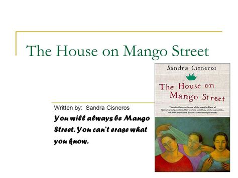 the house on mango street poverty theme the house on mango street ppt video online download