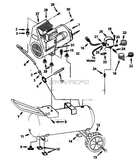 cbell hausfeld wl610098 wl610099 wl610001 wl610001aj air compressor parts