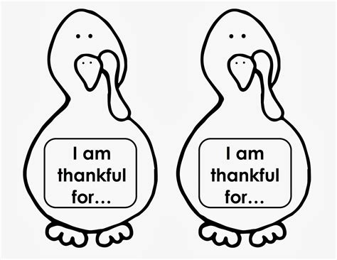 thankful turkey craft template you turkey thanksgiving craft