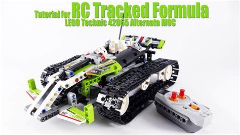 tutorial lego technic tutorial for rc tracked formula lego technic 42065