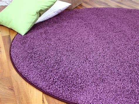 lila teppich rund teppich rund lila hause deko ideen