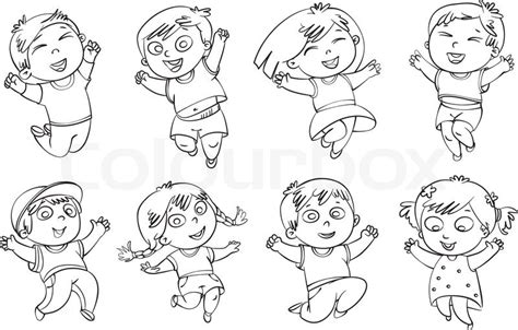 jumping for coloring pages sketch coloring page
