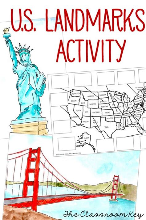 8 U S Landmarks To See This Summer by Map Activities Maps And Activities On